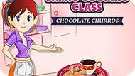 Игра Кухня Сары: Шоколадный Чуррос