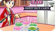 Игра Кухня Сары: Сладкие Рисовые Пирожные