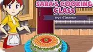 Игра Кухня Сары: Торт Павлова
