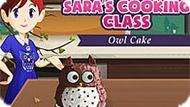 Игра Кухня Сары: Торт-Сова