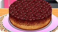 Игра Кухня Сары: Вишневый Перевернутый Пирог