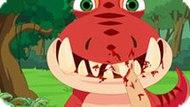 Игра Лечить Зубы Динозавру