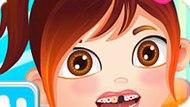 Игра Лечить Зубы Малышке Кармен