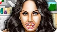 Игра Лечить Зубы: Меган Фокс У Стоматолога