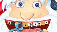 Игра Лечить Зубы: Санта У Дантиста