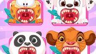 Игра Лечить Зубы Животным