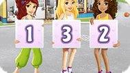 Игра Лего Френдс 6: Запомни Цифры