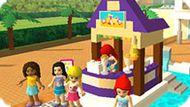 Игра Лего Френдс: Раскраска