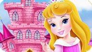 Игра Малышка Аврора Украшает Замок
