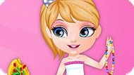 Игра Малышка Бабри: Ожерелье Из Бисера