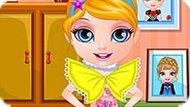 Игра Малышка Барби 10: Платье Для Принцессы