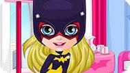 Игра Малышка Барби 2: Костюмы Супергероя