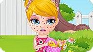 Игра Малышка Барби 6: Приступ Аллергии