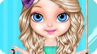 Игра Малышка Барби: Блестящая Мода