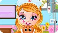 Игра Малышка Барби: Больница Для Домашних Животных