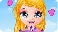 Игра Малышка Барби Делает Кукольный Домик