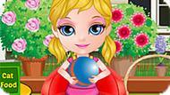 Игра Малышка Барби: День Стирки