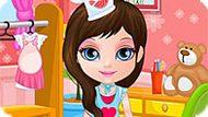 Игра Малышка Барби Готовит Пиццу