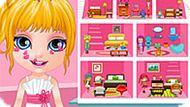 Игра Малышка Барби: Кукольный Дом