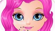 Игра Малышка Барби: Маникюр