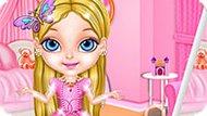 Игра Малышка Барби: Мода Принцессы
