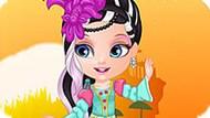 Игра Малышка Барби: Наряд Эвер Афтер Хай