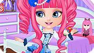 Игра Малышка Барби: Наряд Манги