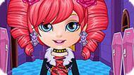 Игра Малышка Барби: Наряды Монстр Хай