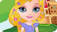 Игра Малышка Барби: Наряды Принцессы