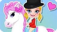 Игра Малышка Барби: Настоящий Пони