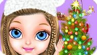 Игра Малышка Барби: Новогодняя Магия