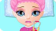 Игра Малышка Барби: Операция На Животе
