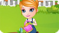 Игра Малышка Барби: Озеленение Сада