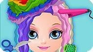 Игра Малышка Барби: Парикмахерская