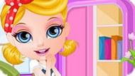Игра Малышка Барби: Переделка Комнаты
