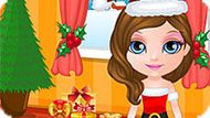 Игра Малышка Барби: Подготовка К Рождеству
