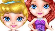 Игра Малышка Барби Принцесса Диснея