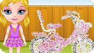 Игра Малышка Барби: Прогулка На Велосипеде