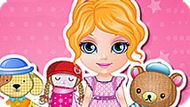 Игра Малышка Барби Шьет Игрушки