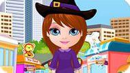 Игра Малышка Барби: Шоппинг На Хэллоуин