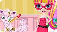 Игра Малышка Барби: Сила Принцессы