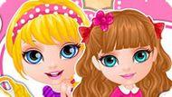 Игра Малышка Барби: Соответствие Сестер