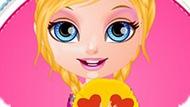 Игра Малышка Барби Создает Подушку-Смайлик