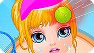 Игра Малышка Барби: Спортивная Травма