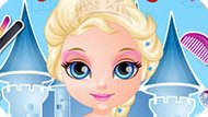 Игра Малышка Барби: Стиль Принцессы Диснея