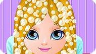 Игра Малышка Барби: Стрижка В Стиле Манги