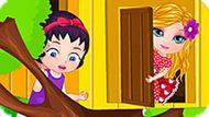 Игра Малышка Барби Строит Дом На Дереве