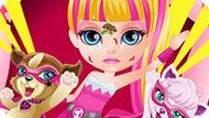 Игра Малышка Барби Супергерой