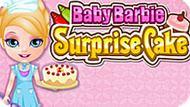 Игра Малышка Барби: Торт-Сюрприз