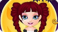 Игра Малышка Барби: Угощение Или Шутка
